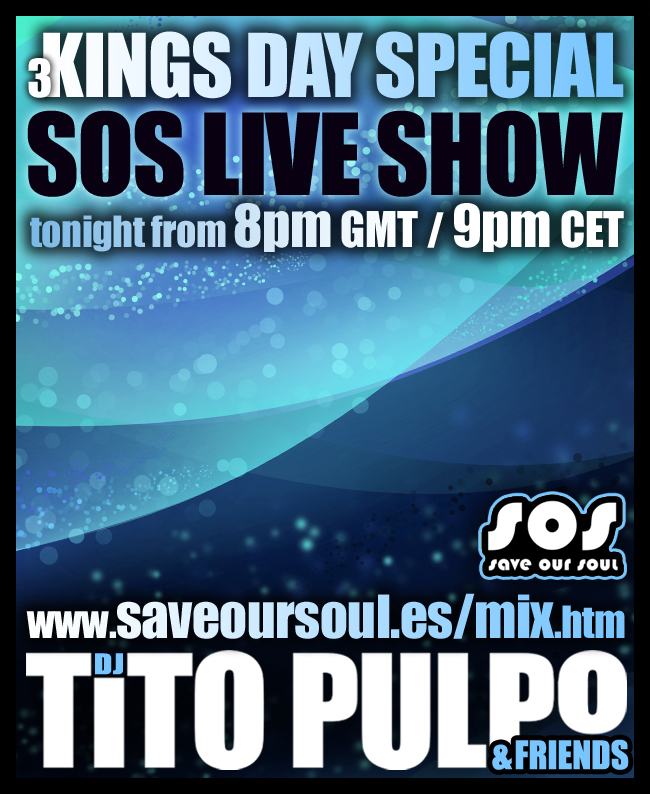 3 Kings Night Special Edition SOS LIVE SHOW with Tito Pulpo
